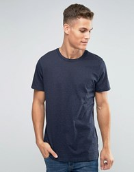 Jack And Jones T Shirt With Contrasting All Over Splatter Print Navy