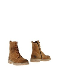 Stele Ankle Boots Camel