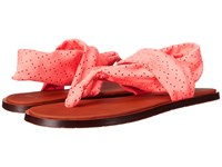 Sanuk Yoga Devine Hot Coral Women's Sandals Red