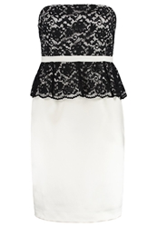 S.Oliver Cocktail Dress Party Dress Ivory Off White
