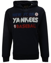 47 Brand '47 Men's New York Yankees Crosstown Striker Bic Hoodie Navy