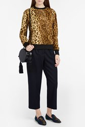 Hillier Bartley Women S Leopard Print Jumper Boutique1