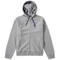 Paul Smith Side Logo Zip Hoody Grey