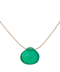 Wanderlust Life Green Chalcedony Necklace
