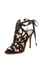 Marchesa Jessica Cutout Sandals Black