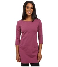 Fig Clothing Ver Tunic Opera Women's Long Sleeve Pullover Red