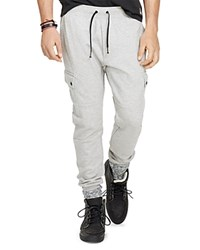 Polo Ralph Lauren Double Knit Tech Cargo Pants Salt And Pepper