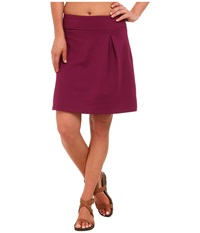 Mountain Hardwear Butterlicious Skirt Dark Raspberry Women's Skirt Red