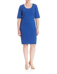 Junarose Elbow Length Sleeves Fitted Dress Surf The Wave