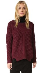 Knot Sisters Mcallister Sweater Burgundy