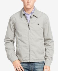 Polo Ralph Lauren Men's Poplin Windbreaker Metal Grey