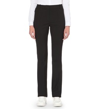 French Connection Gloss Flared Trousers Black