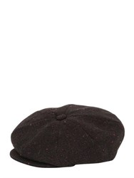 Superduper Arrow Quilted Wool Twill Hat