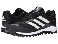 Adidas Turf Hog Lx Low Baseball Black Running White Men's Cleated Shoes