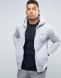 Firetrap Zip Through Hoodie Grey