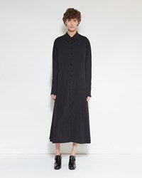 Christophe Lemaire Shirt Dress Black
