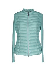 Escada Sport Coats And Jackets Down Jackets Women Turquoise