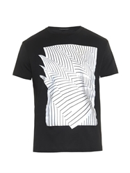 Christopher Kane Geometric Paper Print T Shirt
