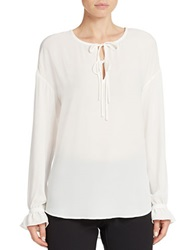 424 Fifth Poet Blouse Ivory