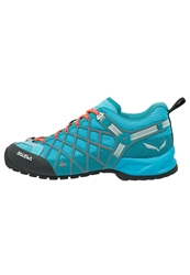 Salewa Wildfire Vent Walking Shoes River Blue Clementine Light Blue