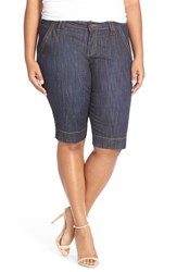 Plus Size Women's Kut From The Kloth Denim Bermuda Shorts