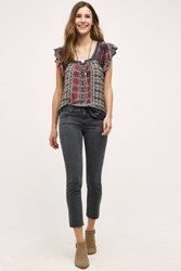 Anthropologie Ag Stevie Capri Jeans Black 24 Pants
