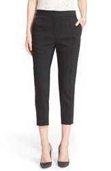 Women's Iro High Waist Crop Skinny Pants Black