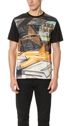 Opening Ceremony Jet Fighter Tee Black Multi