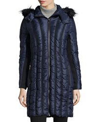 Zac Zac Posen Carla Down Puffer Jacket Midnight Black