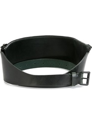 Ann Demeulemeester Zipped Belt Green