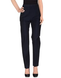 Balenciaga Trousers Casual Trousers Women Dark Blue