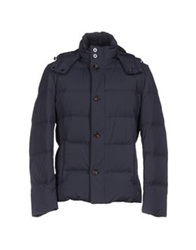 Boss Black Down Jackets Dark Blue