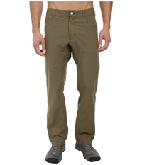 Black Diamond Lift Off Pants Burnt Olive Men's Casual Pants