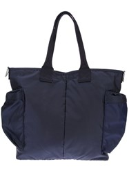 Porter Side Pocket Shoulder Bag Blue