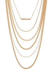 Forever 21 Layered Chain Necklace