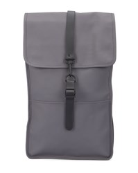 Rains Grey Waterproof Backpack