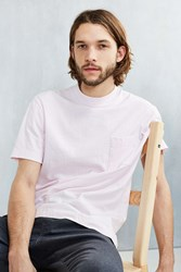 Urban Outfitters Box Mock Neck Tee Pink