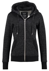 Superdry Luxe Edition Tracksuit Top Black Sparkle