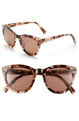 Lilly Pulitzer 'Hartley' 52Mm Polarized Sunglasses Milky Pink Tortoise