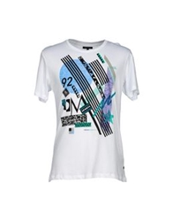 Surface To Air T Shirts White