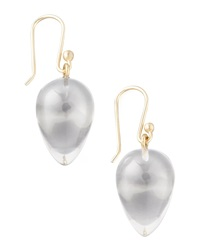 Ted Muehling Rock Crystal Acorn Earrings