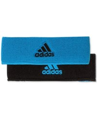 Adidas Men's Interval Climalite Reversible Headband Turquoise