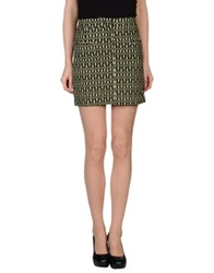 L'autre Chose L' Autre Chose Mini Skirts Green