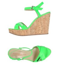 Alessandro Dell'acqua Sandals Acid Green