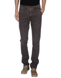 Camouflage Ar And J. Casual Pants Grey