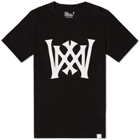 White Mountaineering Baseball Logo Tee Black