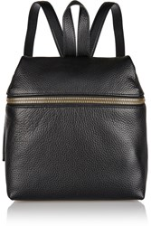 Kara Small Textured Leather Backpack
