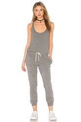 Pam And Gela Sleeveless Jumpsuit Gray