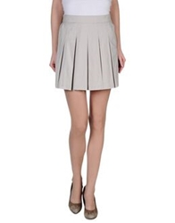 Prada Sport Mini Skirts Light Grey