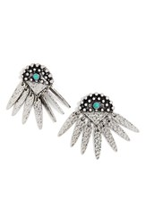 Baublebar Women's 'Palenque' Hammered Fringe Earrings
